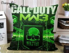 Minecraft Creeper Call Of Duty - Pillow Case One Side/Two Side