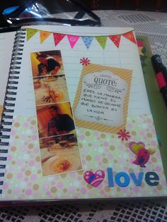 Love smashbook page!