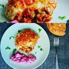 """#cottage #pie #beetroot #yogurt #spearmint #salad #mimiscooks #yummy"""