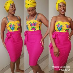 African Wear, African Fashion, Tsonga Traditional Dresses, South African Weddings, Ladies Fashion, Womens Fashion, Traditional Fashion, Dress Outfits, Chic