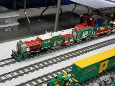 Lego Joe's Christmas Train