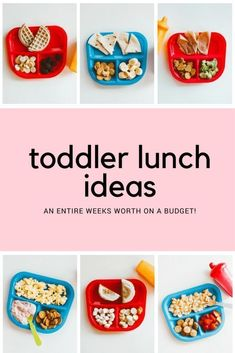 seven days of lunch ideas for babies and toddlers that are easy and inexpensive // #HorizonOrganic #Horizonmilk #Horizonsnacks #ad