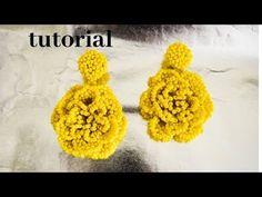 DIY tutorial l ARETES de MOSTACILLA PRIMAVERA VERANO 2019 | HOW TO MAKE MOSTACILLA EARRINGS - YouTube