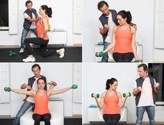 El entrenador personal de Elsa Pataky, y otras celebrities de Hollywood, nos da las claves para ponernos en forma con estos ejercicios básicos para tonificar la musculatura y que puedes hacer a tu ritmo en casa.