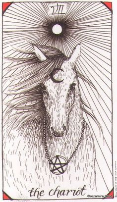 Wild Unknown Tarot - The Chariot. I just ordered mine two days ago, and it's coming with a Chariot insert, which is my Life Path Card. I wonder if that was intentional...