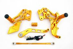Mad Hornets - Rearset for Suzuki GSX R 600 750 (2006-2011), Blk or Gold, $179.99 (http://www.madhornets.com/rearset-for-suzuki-gsx-r-600-750-2006-2011-blk-or-gold/)