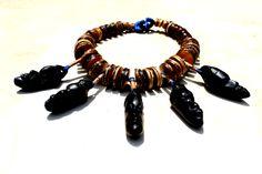 Balungi Blue edition Tribal Necklace