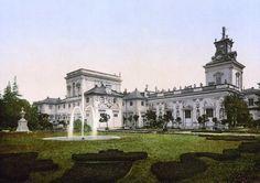 Pałac w Wilanowie na przełomie XIX i XX wieku (fot. autor nieznany / - Poland