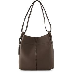 Michael Kors Collection Rogers Medium Slouchy Hobo Bag ($940) ❤ liked on Polyvore featuring bags, handbags, shoulder bags, elephant, brown hobo purse, brown hobo shoulder bag, michael kors purses, michael kors handbags y brown handbags