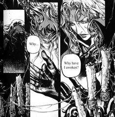 Alucard produced by Ayami Kojima Manga Anime, Comic Manga, Anime Comics, Manga Art, Anime Guys, Castlevania Dracula, Alucard Castlevania, Castlevania Netflix, Vampire Hunter D