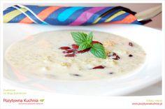 Zupa brokułowo-krewetkowa - #przepis na zupę z brokułów z krewetkami  http://pozytywnakuchnia.pl/zupa-brokulowa-z-krewetkami/  #brokuly #krewetki #zupa #obiad #kuchnia