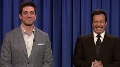 Rodgers gets his revenge on 'Late Night with Jimmy Fallon'