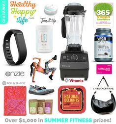 Omg incredible giveaway! You cant miss it. Vegan life it's the best life