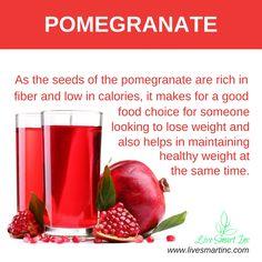 Healthy Pomegranate Juice #livesmartinc    www.livesmartinc.com