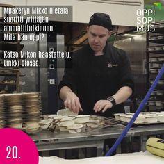 MBakeryn Mikko Hietala valitsi oppisopimuksen tavaksi kehittää omaa yrittäjyyttä. Linkki profiilissa. #oppisopimus #sopivinonparas