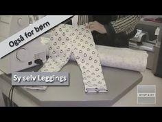 Sy selv leggings - også for børn - YouTube