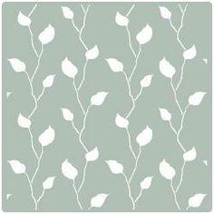 Plantilla pared de arbol decorar tu casa es facilisimo Plantillas decorativas ikea