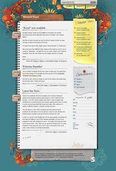 Notepad Chaos: A Free WordPress Theme