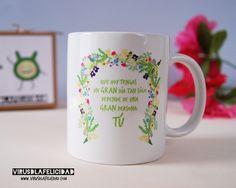 Para que cada mañana cuando tomés tu leche con chocolate, café o té recuerdes que tener UN GRAN día, depende de una GRAN PERSONA: tú ¡Y de nadie más! - Incluye misión para propagar felicidad a tu entorno :)