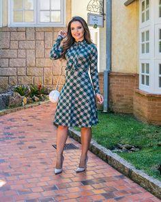 """579 Likes, 13 Comments - Boutique K (@boutiquekmodafeminina) on Instagram: """"Lançamento!! Coleção Bela Poesia  Outono/Inverno 2018 Vestido kenia em jacquard c elastano e…"""""""
