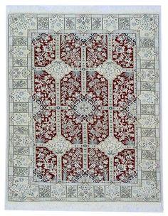 Nain 6la carpet Handgeknüpft silk Perser  200 x 130,orientteppich orient carpet