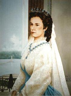 Portrait of Empress Elisabeth (Sisi)