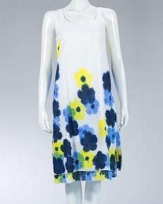 Animale knee-length women's dress - XA-L-C-D C218002 - White