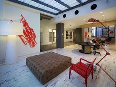 open workplace at EMI Music Australia #office #design