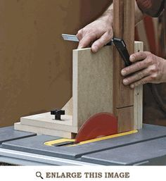 Table Saw Joinery Jig Woodworking Plan, Shop Project Plan | WOOD Store