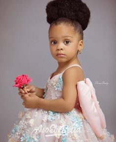 It's a 'Mommy and Me' Style Moment From Kemi Goodey and Princess Nicole - Wedding Digest Naija Beautiful Black Babies, Beautiful Children, Natural Hairstyles For Kids, Natural Hair Styles, Pretty Baby, Baby Love, Cute Kids, Cute Babies, Afro