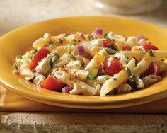 Easy Tuscan Pasta Salad%09