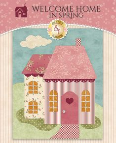 Shabby Fabrics is an online quilting shop for fabric, notions, patterns, & kits. House Quilt Patterns, House Quilt Block, Applique Patterns, Applique Quilts, Quilt Blocks, Crazy Quilting, Homemade Quilts, Shabby Fabrics, Fabric Houses
