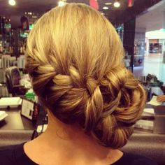 Braided side up do❤