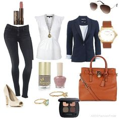 women's casual spring fashion | ... outfit women s outfits spring casual understated elegance smart casual