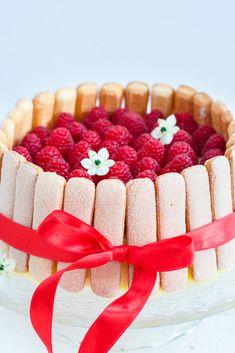 Charlotte Russe Dessert, Charlotte Cake, Bake My Cake, Icebox Cake, Take The Cake, Birthday Treats, High Tea, No Bake Desserts, Cake Cookies