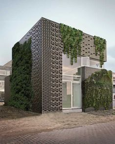 pattern contemporary brick facade - Google Search