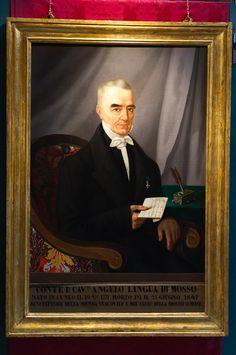 Ambito cuneese (?) Ritratto del conte Angelo Lingua di Mosso, post 1864 Olio su tela Cuneo, Curia Vescovile (ora Museo Diocesano)