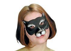 Black Cat Eye Mask - Party City