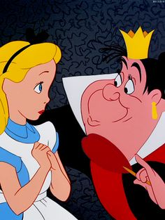 Has anyone ever knoticed that the Queen of Hearts looks kind of like the Chief in Peter Pan?