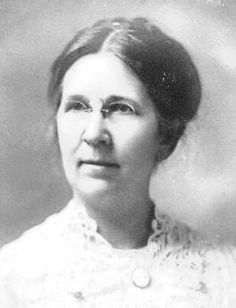 "Rosa Smith Eigenmann (October 8, 1858 – January 12, 1947) was the first notable female ichthyologist,the branch of zoology devoted to the study of fish, first publishing in her own right, she later collaborated with her husband Carl H. Eigenmann, and some 150 species of fish are today credited ""Eigenmann & Eigenmann"" as a result.  http://biodiversitylibrary.org/creator/24232"