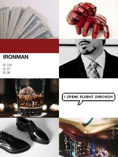 Tony Stark aesthetic ✨