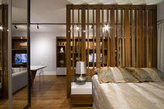 Apartamento integrado tem ambientes divididos por balcão e estrutura vazada - Casa & Cia - Zero Hora - Casa & Cia: Vida e Estilo - Zero Hora