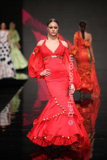 Gitano - Noveles - Trajes de Flamenca - SIMOF 2012
