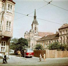 Stará Bratislava Bratislava, Old City, Old Photos, Street View, Architecture, Building, Places, Photography, Travel