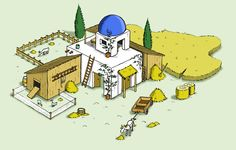 #farm at the new isle from the game #travians at http://www.travians.com