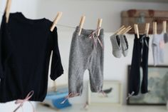 homemade baby clothes