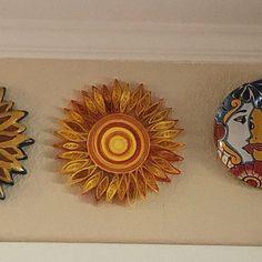 Teal dahlia wall art   Etsy Metal Wall Flowers, Teal Home Decor, Paper Dahlia, Grey Wall Art, Paper Wall Art, Orange Paper, Flower Artwork, Shades Of Beige, Contemporary Wall Art