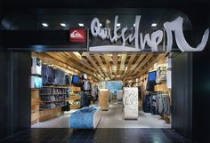 Quiksilver Young Men's Store by Clive Wilkinson Architects, Costa Mesa – California