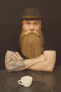 Beards are awesome, win a special tee for beard lovers - http://reserveshirt.com/win-tee-with-pinterest
