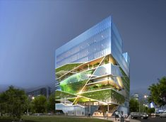 Culture Grove in Seoul, Sout Korea by Unsangdong Architects